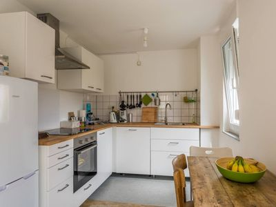 Photo for Large bright 2 room kitchen bathroom balcony apartment 50sqm