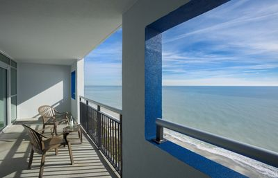 Photo for Oceanfront Condo - Just steps from the white sandy beach & Atlantic ocean!