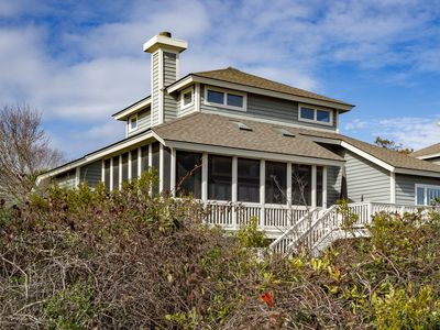 Photo for Fabulous 3BR/3 BA Oceanfront North Beach Cottage! Walk to Beach! Pet Friendly!