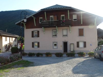 Photo for Contempoarary Holiday Home in Servoz with terrace offering country views