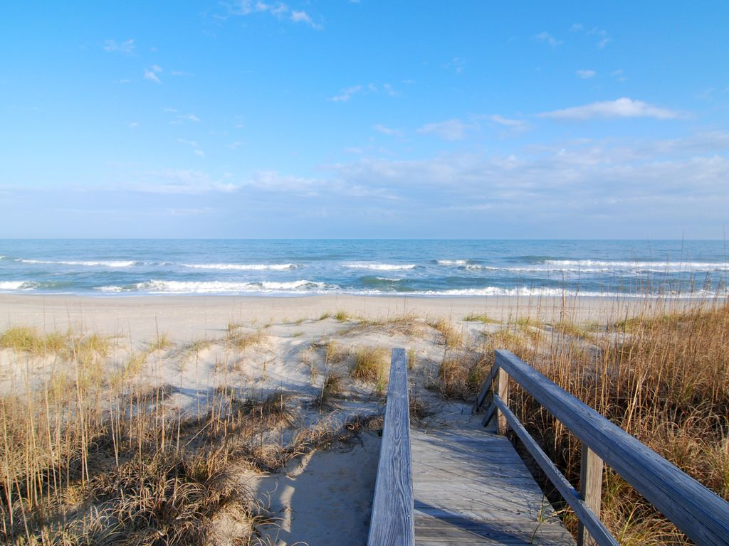Station One 4d Paradise Oceanfront Condo With Community Pool Tennis For Beach Wrightsville Real Estate Nc