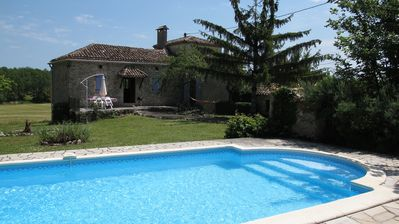 Photo for 19th Century Stone Cottage,Private Pool and Garden,Touffailles,Tarn Et Garonne