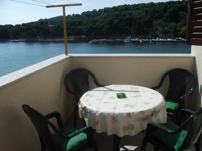 Photo for 1BR Apartment Vacation Rental in Prvic, Dalmatia