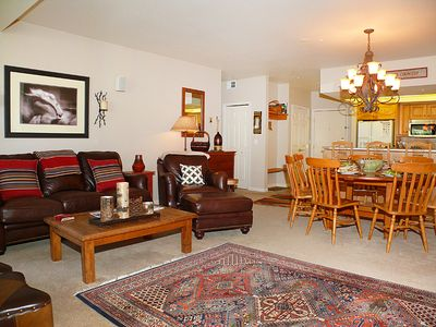 Photo for Spacious Summer Condo w/Access to Onsite Pool, Hot Tubs, Fitness!