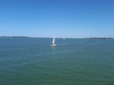 Photo for Beautiful Waterfront Condo - Minutes from Cedar Point