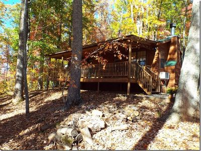 Photo for Luxurious and Affordable Cabin Near Lake James