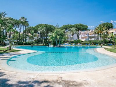 Photo for LUXURY APARTMENT VERY CLOSE TO THE SEA, 5 community pools and next to the sea