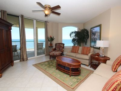 Photo for Beach Colony East 9C- Beach Front unit with large terrace & amazing views!