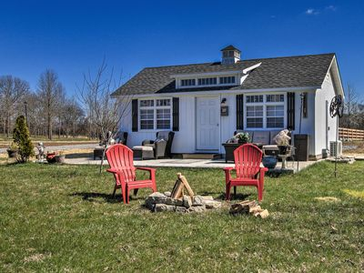 Photo for Peaceful Franklin Cabin on 15 Acres - Pet-Friendly