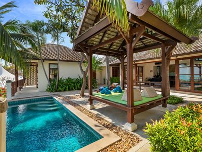 Photo for 9 Bed Private Pool Villas Near The Beach