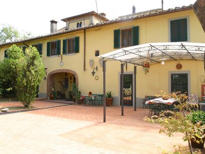 Photo for ANCIENT PRIVATE VILLA HEATED POOL & JACUZZI ON  FLORENCE HILLS FAMILY FRIENDLY