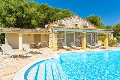 Beautiful villa with private infinity pool and terrace with panoramic sea views