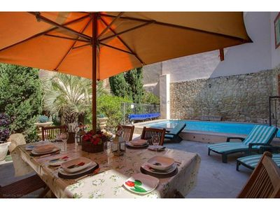 Photo for House in Béziers, Languedoc-Roussillon, France  with heated pool for 10 persons