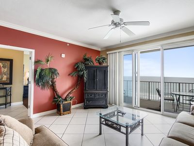 Photo for Stylish Gulf Front condo available now for you to enjoy the Summer Sun!!