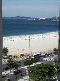 Large apartment with Ocean view in Copacabana