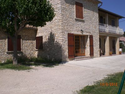 Photo for house in Provence 4 to 6_personnes between Avignon and Uzes