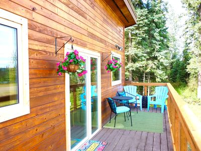 Photo for Cabin on historic dog mushing property