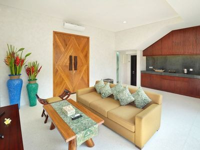Photo for Clean, Spacious, Quiet Villa in Nusa Dua, 2 Bedrooms, Close to GWK Cultural Park