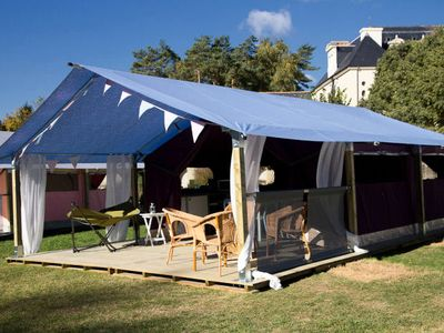 Photo for Camping de la Baie de Douarnenez **** - Tent Freelife 3 Rooms 5 Persons