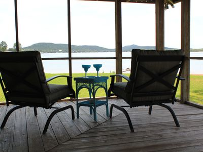 Photo for Gorgeous views! Renovated waterfront. Cozy retreat. Super clean.