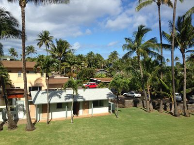 View from your lanai with soft trade winds.