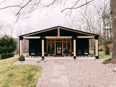Photo for Ivy Cottage - Hocking Hills - Barndominium