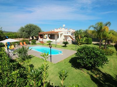 Photo for Wonderful private villa for 6 guests with private pool, WIFI, TV, pets allowed and parking