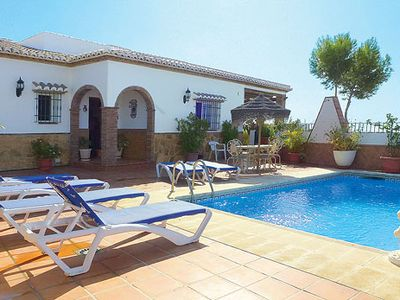 Photo for Villa w/ views of historic Nejas + pool, 5 min drive from village.