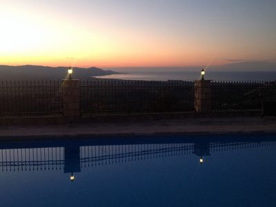 Photo for Private Villa.Spectacular Sea/Sunset Views 25mins from Paphos