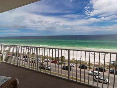 You won't want to miss this Majestic Sun Beach Front Condominium