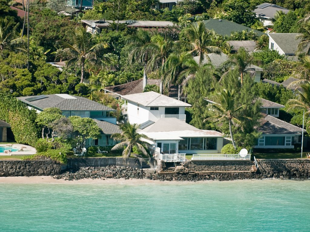 The Best Oceanfront Lanikai Home Aug Nightly Rate