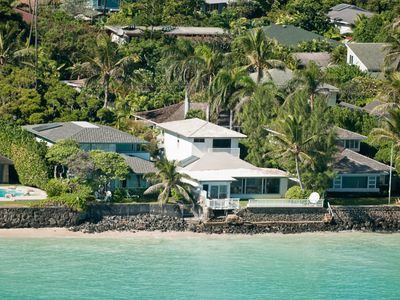Photo for Look at This One !! - The BEST Oceanfront Lanikai Home Aug Discount Nightly Rate