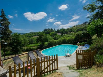 Photo for House in Radda in Chianti with Internet, Pool, Parking, Terrace (126373)