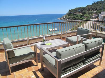 Photo for Luxury penthouse with sea and national park