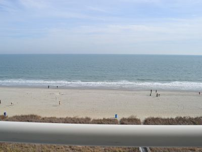 Photo for Last minute rate, Direct Oceanfront 3BR/2BA,park on the same floor, very central