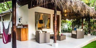Photo for Large Bungalow in Banana Beach, with King and Queen Bed. A/C, Wifi, Kitchenette
