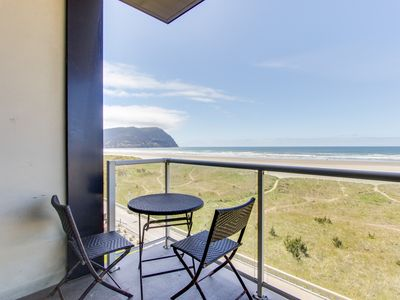 Photo for Oceanfront condo w/ shared pool! Gorgeous sea & mountain views! Family friendly!