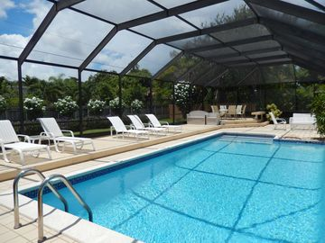 Sun filled 'Heated Pool' Home in Miami-Cutler Bay.