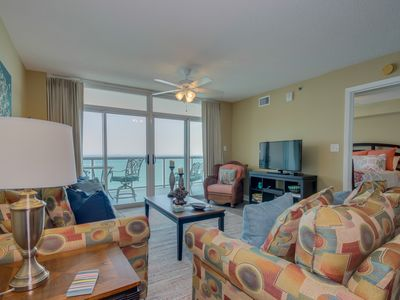 Photo for Beautiful oceanfront condo, tons of pool amenities, great location!!