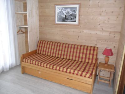 Photo for Studio at the foot of the Daible ski lift and ski pass office,