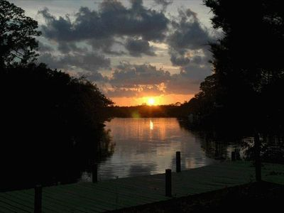 Photo for Private Waterfront Retreat on Gulf Water Bayou- KAYAKER & NATURE LOVERS PARADISE