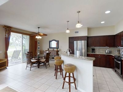 Photo for Luxurious ground-floor condo w/ shared infinity pool/hot tub & on-site golf