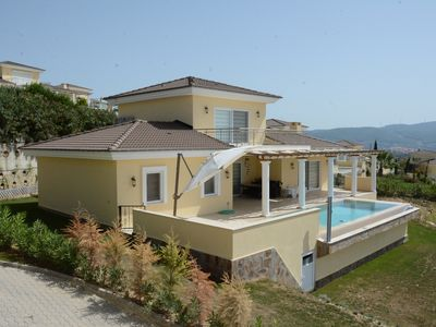 Photo for Relaxation begins at Alphan villa with private pool surrounded by green hill