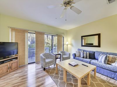 Photo for Spacious and comfy 3 beds, 3 bath townhome in Forest Beach! Dogs welcome!