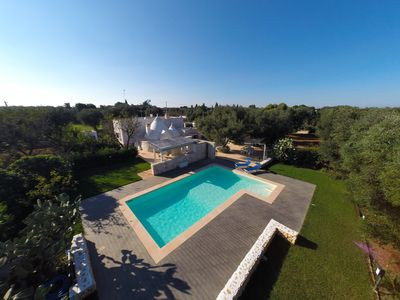 Photo for Trullo del Salento with pool