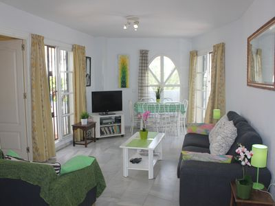 Photo for PENTHOUSE WITH POOLS & GARDENS - 3 BEDROOMS - 5 MIN WALK TO THE BEACH