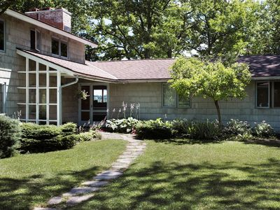Photo for Gracious Mid-Century Modern--Right on Cazenovia Lake, with Expansive Grounds