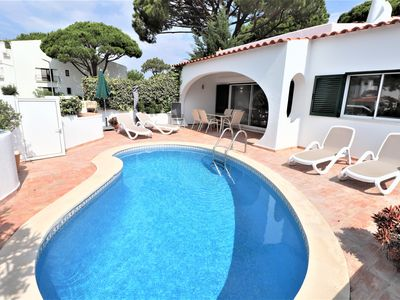Photo for Fully Renovated 3 Bedroom Villa in Vale do Lobo, 5min walk to Tennis Academy