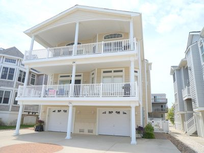 Photo for Beachblock...Ocean view from the deck. Beach tags also included. Close to beach and shopping.