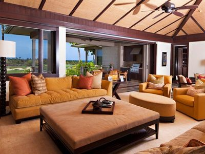 Photo for HUALALAI Wai'ulu 115D, 3/3.5 with Elegant Furnishings and Amazing Views